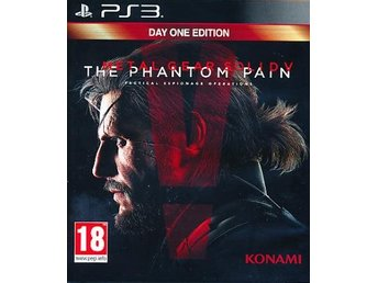 MGS V Phantom Pain Day 1 Ed. (PS3)