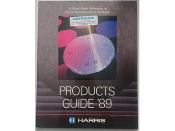 Harris Products Guide '89