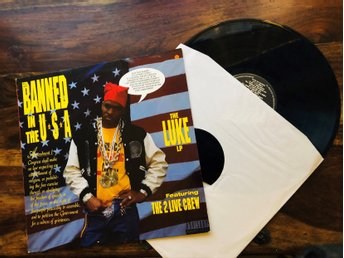 THE LUKE LP feat. 2 LIVE CREW • Banned In The USA - Vinyl
