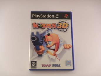 Playstation 2 / Ps2  --  Worms 3D  --  PAL