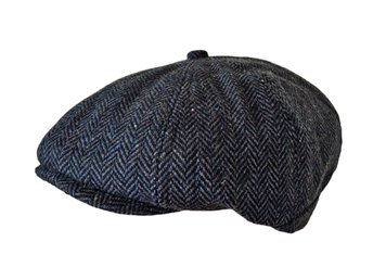 PEAKY BLINDERS TOMMY SHELBY WOOL BLEND HERRINGBONE BAKERBOY NEWSBOY FLAT CAP HAT