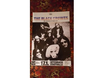 Poster / The Black Crowes / Offenbach Stadthalle 17/1 - 1995 (83 x 59 cm)