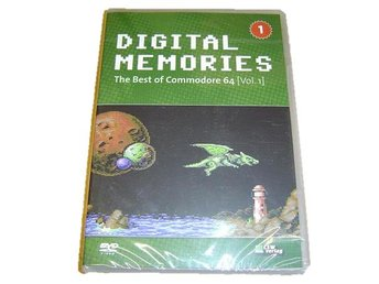 Digital Memories Commodore 64 DVD Soundtrack Musik *NYTT*