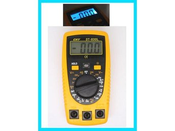 LCD Digital multimeter Measuring AC/DC Volt Tester Tool