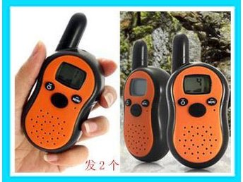 New! 2st Mini Walkie Talkie i fickformat 0.5W / 7 Km