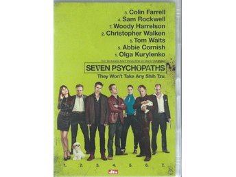SEVEN PSYCHOPATHS - COLIN FARRELL   ( SVENSKT TEXT )