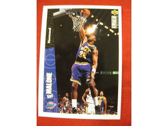 KARL MALONE  - UD COLLECTORS CHOICE 1996 - UTAH JAZZ - BASKET
