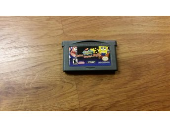 SPONGEBOB LIGHTS CAMERA PANTS GBA