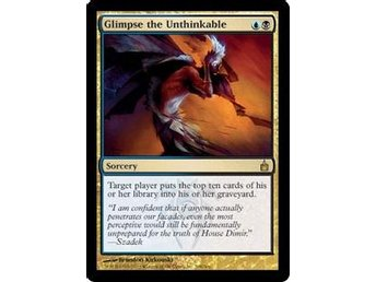 Glimpse the Unthinkable - Ravnica: City of Guilds - SP - English