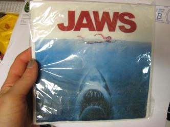 Servetter JAWS Hajen KULTFILM ! Movie filmmemorabilia KULT
