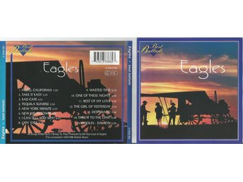 EAGLES BEST BALLADS (CD) - Minsk - EAGLES BEST BALLADS (CD) - Minsk