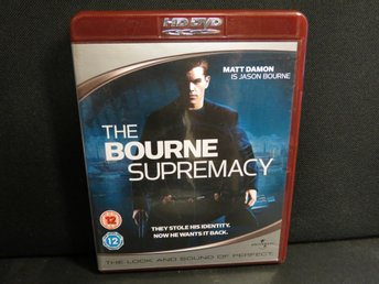 THE BOURNE SUPREMACY (HD DVD)