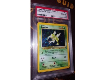 Scyther holo Jungle psa 10a!!!