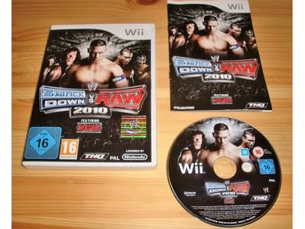 Wii: WWE Smackdown vs Raw 2010
