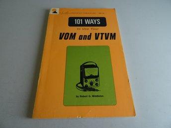 101 ways to use VOM and VTVM. TEM-3A - Södertälje - 101 ways to use VOM and VTVM. TEM-3A - Södertälje