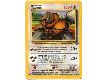Pokémonkort: Tauros [Jungle] 47/64 - Hova - Pokémonkort: Tauros [Jungle] 47/64 - Hova