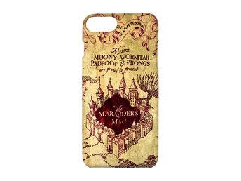 Harry Potter Marauders Map iPhone 7 PLUS Skal