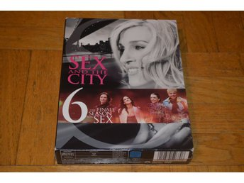 Sex And The City - Hela Säsong 6 - 5-Disc - DVD