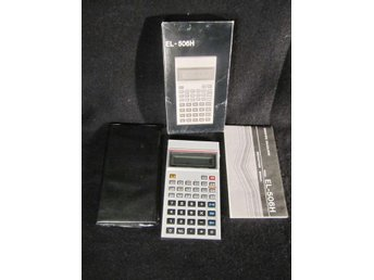 Scientific Calculator Miniräknare EL - 506H Mint Box Japan