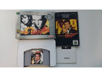 Nintendo 64: James Bond Goldeneye 007 (svensksålt)