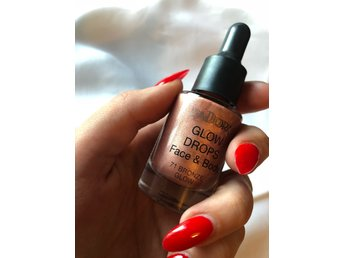 Isadora glow drops face and body 71 bronze glow highlighter