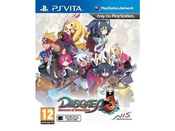 Disgaea 3 - Absence of Detention - Playstation VITA