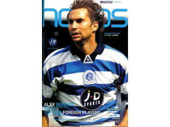 Matchprogram Queens Park Rangers - Oldham Athletic 27 oktober 2001