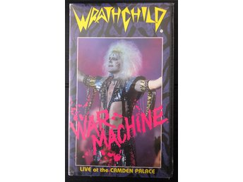 Wratchchild War Machine Live in London At the Camden Palace 1984 VHS