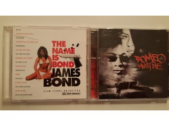 2 x Soundtracks CD (James Bond + Romeo must die)
