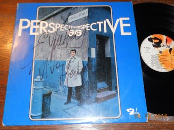 EDDY MITCHELL Perspective 66, SIGNERAD LP Barclay Frankrike '66