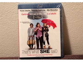 THATS WHAT SHE SAID   BLU-RAY  NY INPLASTAD