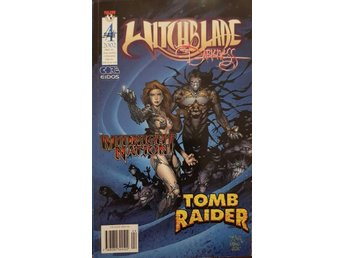 WitchBlade The Darkness Tomb Raider crossover comic nr 4 2002