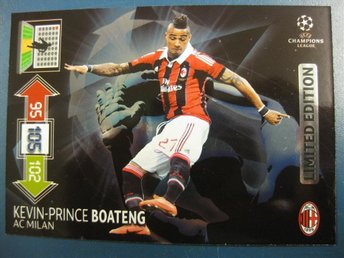 LIMITED EDITION  - KEVIN-PRINCE BOATENG - MILAN - CHAMPIONS LEAGUE 2012-2013