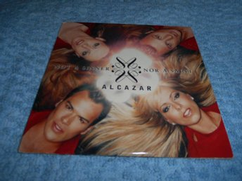 ALCAZAR - Not a Sinner Nor A Saint (CD-singel) 4trk EX/EX