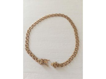 Armband bismarck 18k, 18,5 cm, 5 g - Stockholm - Armband bismarck 18k, 18,5 cm, 5 g - Stockholm