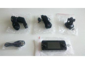 HD dual bilövervakningskameran 1 extern lens, HDMI, rörelse sensorn, nattläge - Norsborg - HD dual bilövervakningskameran 1 extern lens, HDMI, rörelse sensorn, nattläge - Norsborg