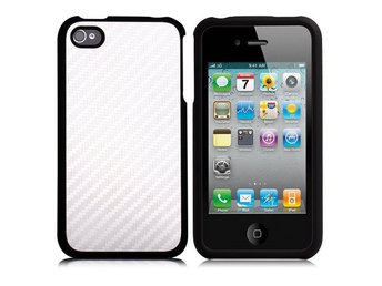 Carbon Metallic - ClickOn (Silver) iPhone 4/4S Skal