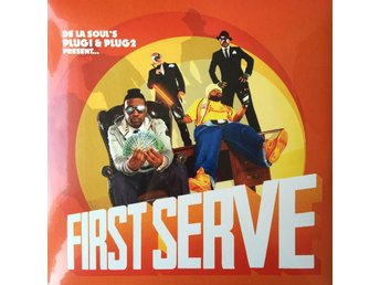 DE LA SOUL - FIRST SERVE 2-LP GATEFOLD NY MINT