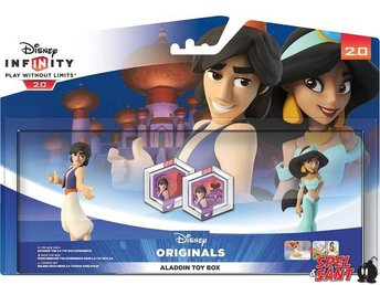 Disney Infinity 2.0 Aladdin & Jasmine Toy Box Pack