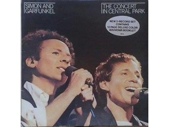 Simon And Garfunkel title* The Concert In Central Park* Folk Rock, Rock EU 2 X L