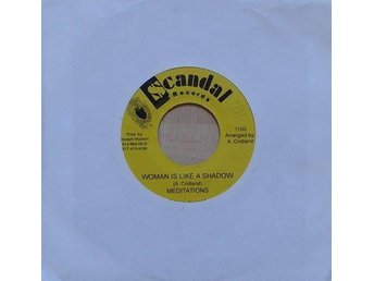 The Meditations title*  Woman Is Like A Shadow* Roots Reggae, Dub US RE-7
