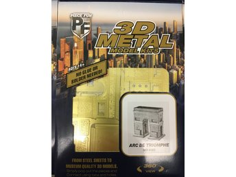 TILLFÄLLIGT PARTI! 3D Pussel Metall - ARC DE TRIOMPHE - Arboga - TILLFÄLLIGT PARTI! 3D Pussel Metall - ARC DE TRIOMPHE - Arboga