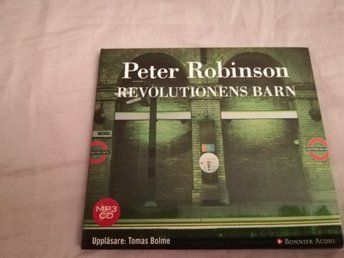 Ljudbok Revolutionens Barn PETER ROBINSON mp3cd
