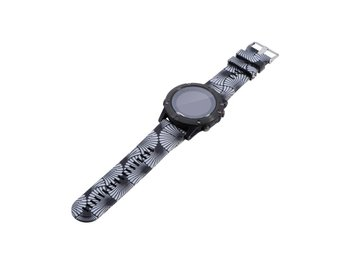 Garmin Fenix 5 silicone watchband strap - Unique Flower