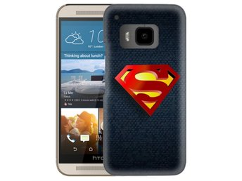 HTC One M9 Skal Superman Märke