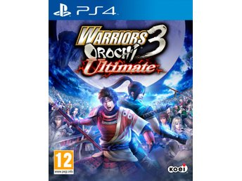 Warriors Orochi 3 Ultimate - Helt nytt till PS4!!!