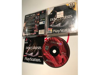 Dino Crisis Black Label Playstation 1 PS1 PSx PSOne Komplett med manual