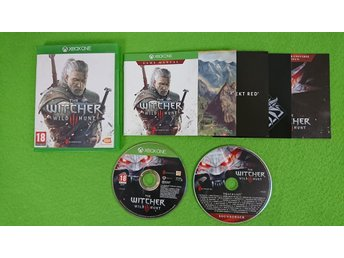 The Witcher 3 Wild Hunt MED BONUS SKIVA Xbox One