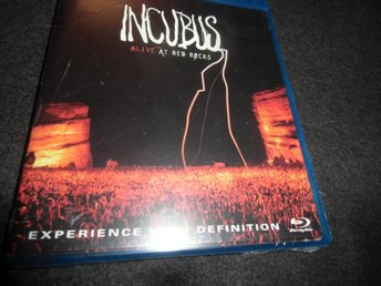 Incubus - Alive at Red Rocks - Blu-ray/CD - 2004 - Ny