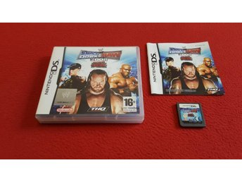 SMACKDOWN VS RAW 2008 till Nintendo DS NDS